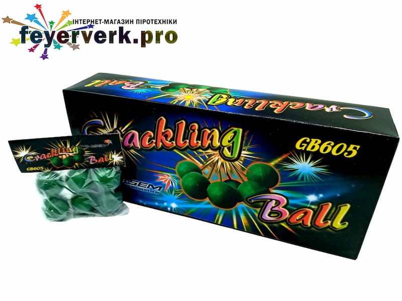 CRACKLING BALL GB605