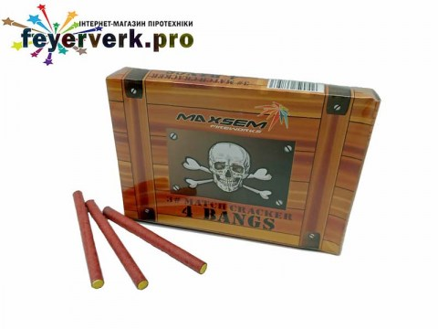 3# MATCH CRACKER 4 BANGS K0203-4